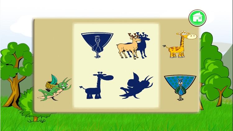Wildlife Shape Puzzle screenshot-3