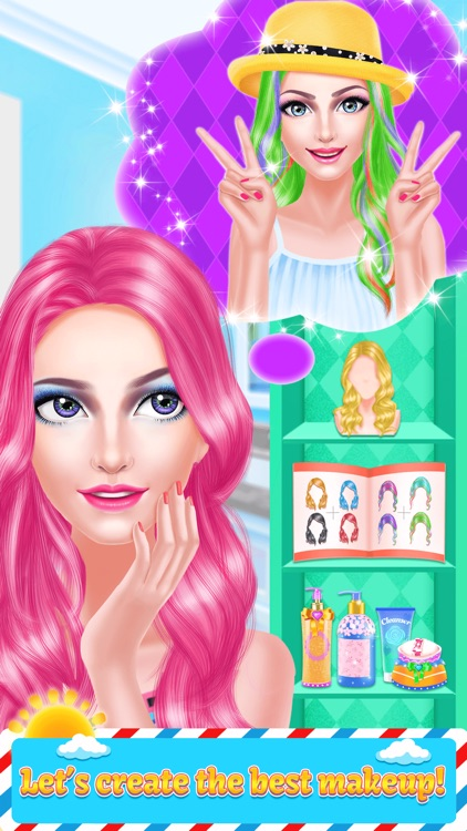 Fashion Girl Hair Style Beauty Salon Game For Girl By Simply Fun Media
