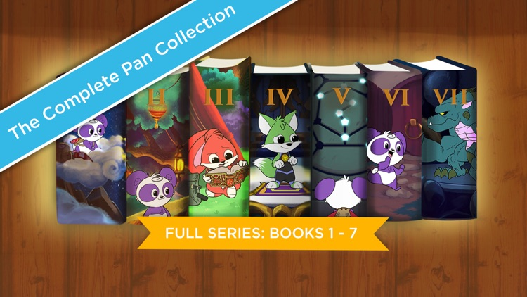 The Complete Adventures of Pan (Books 1-7) screenshot-0