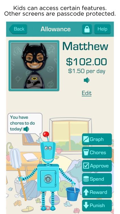Allowance & Chores Bot