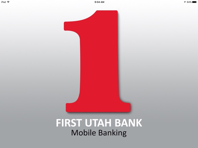 First Utah Bank Tablet Banking