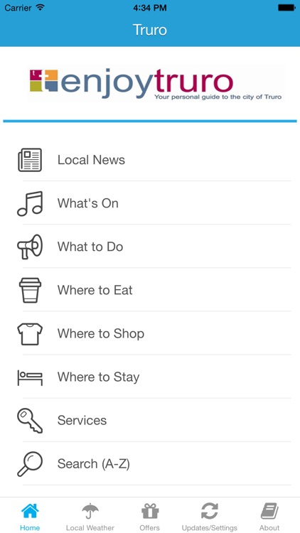 Enjoy Truro App - Local Business & Travel Guide