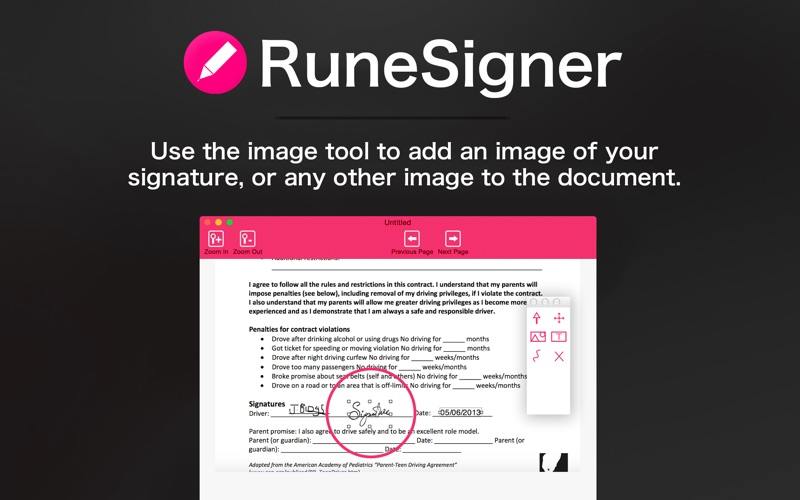 RuneSigner - PDF Signer, Editor and Form Filler