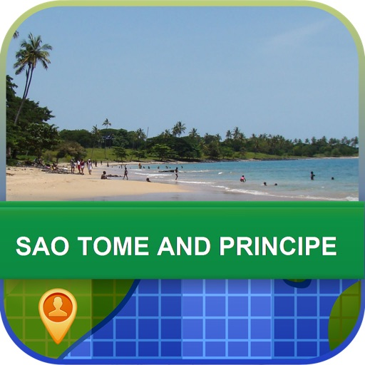Sao Tome and Principe Map - World Offline Maps