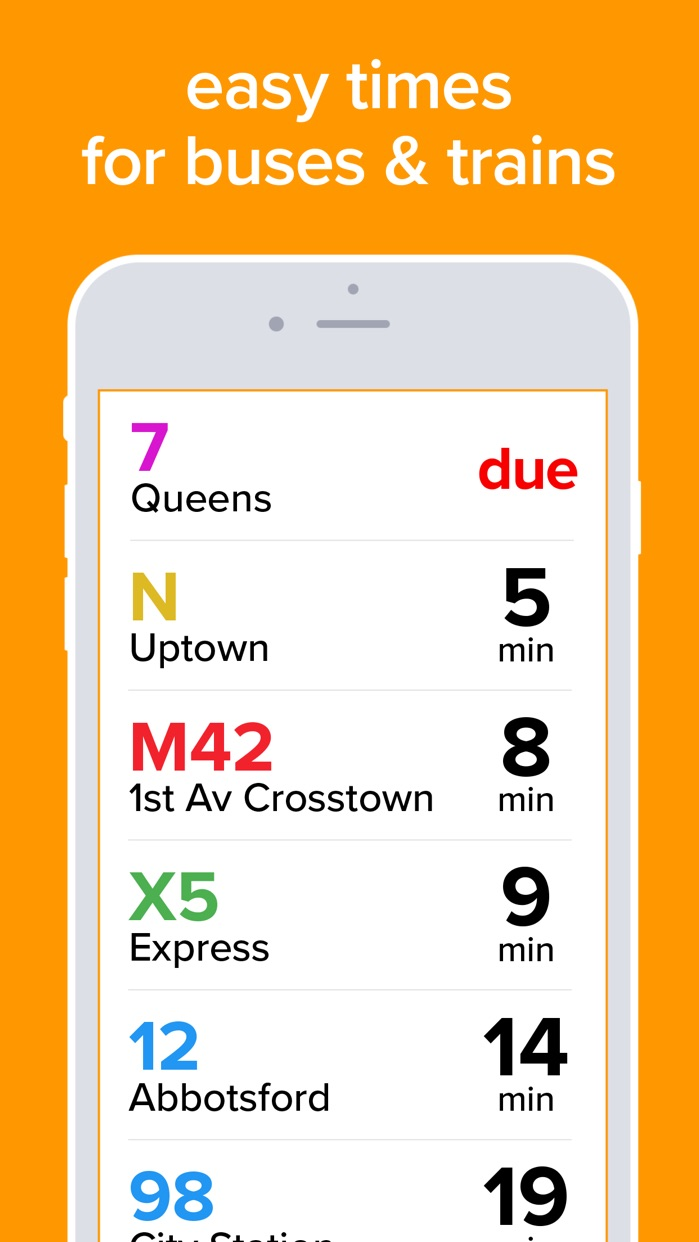 NYC Total Transit: MTA subway map + bus times Screenshot