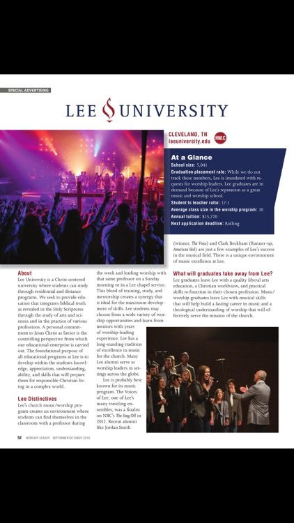 Worship Leader Magazine screenshot-3