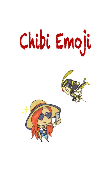 Chibi Emoji - Sticker