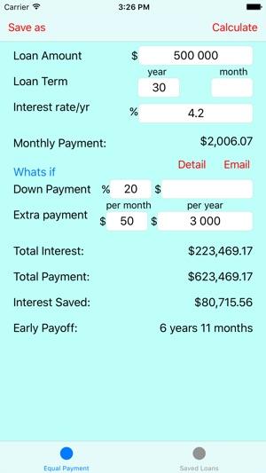early payoff loan calculator