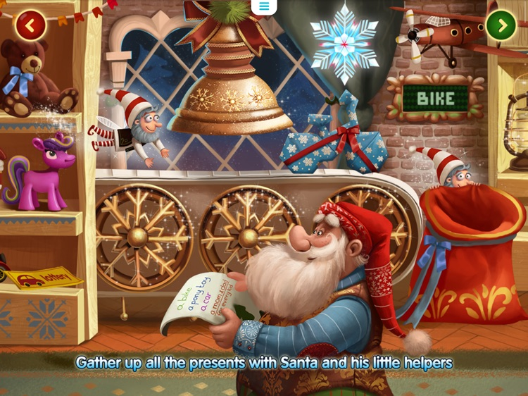 Christmas Magic: Interactive story book for kids screenshot-1