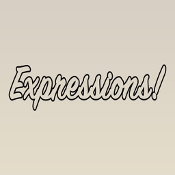 Expressions Outlined Stickers for iMessage