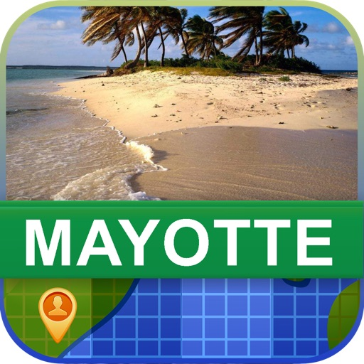 Offline Mayotte Map - World Offline Maps