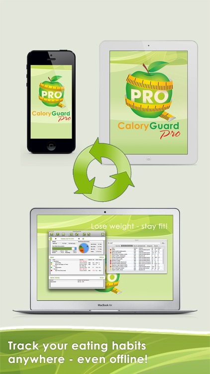 CaloryGuard Pro - Track calories, lose weight screenshot-3