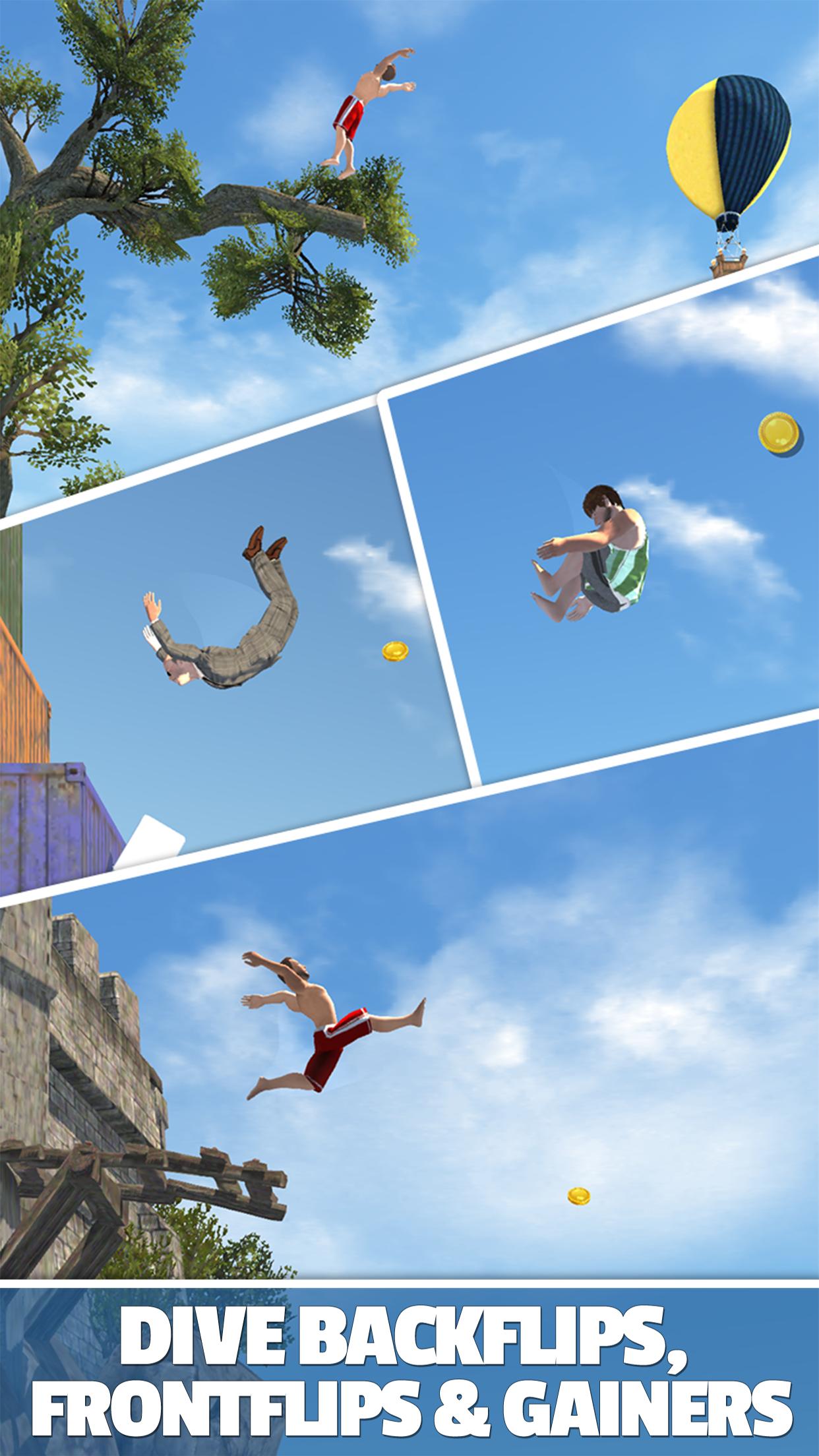 Flip Diving Screenshot
