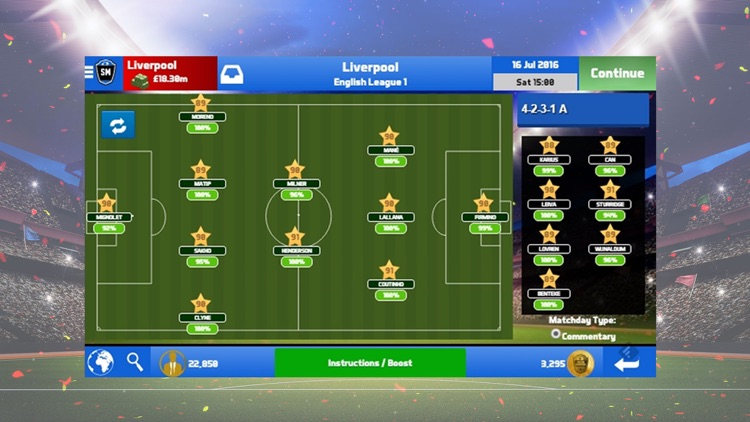 Soccer Manager 2017 screenshot-1