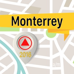 Monterrey Offline Map Navigator and Guide