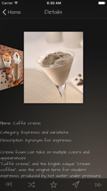 Coffee Drinks Guide screenshot-3