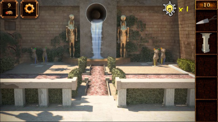 越獄密室逃亡系列2:逃出神廟