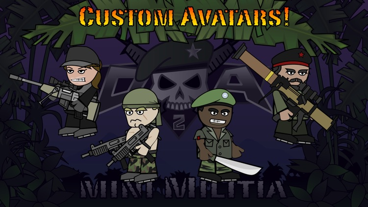 Doodle Army 2 : Mini Militia screenshot-3