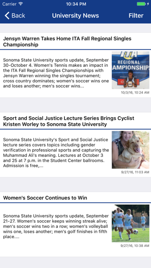 Sonoma State Mobile On The App Store