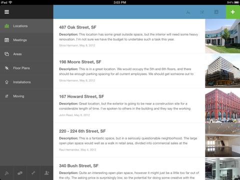 Скриншот из Podio