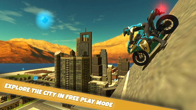 Motorbike Dubai City Driving Simultor 3D 2015 : Expensive motorbikes street racing by rich driver