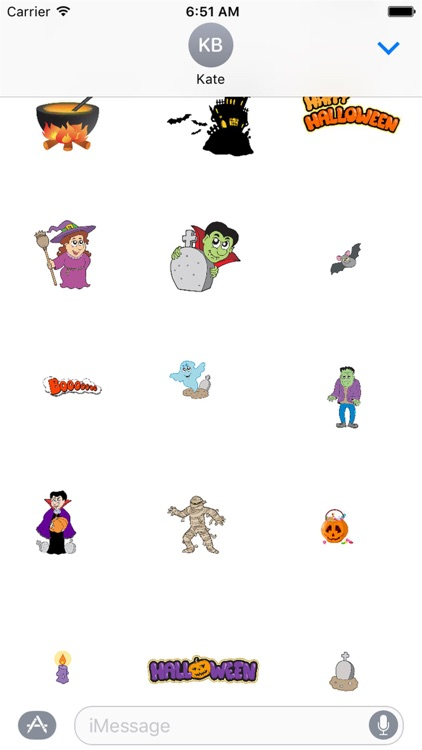 HD Halloween Stickers screenshot-2