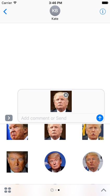 Trump Stickies screenshot-1