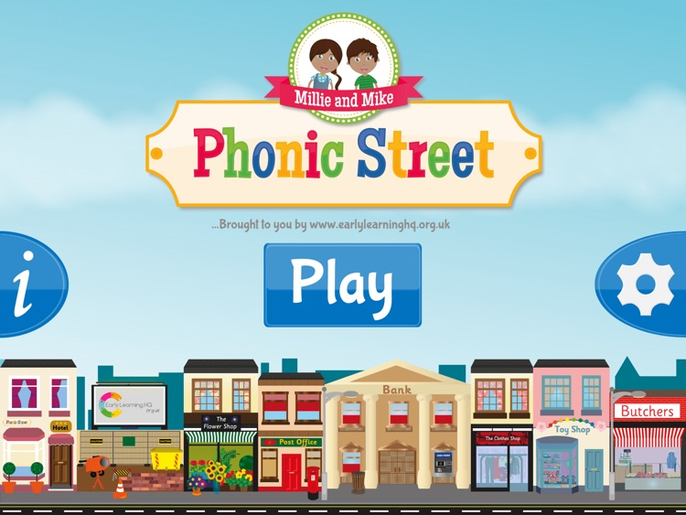 Phonic Street - helping children learn to read