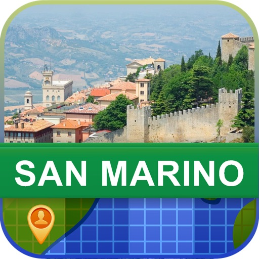 Offline San Marino Map - World Offline Maps