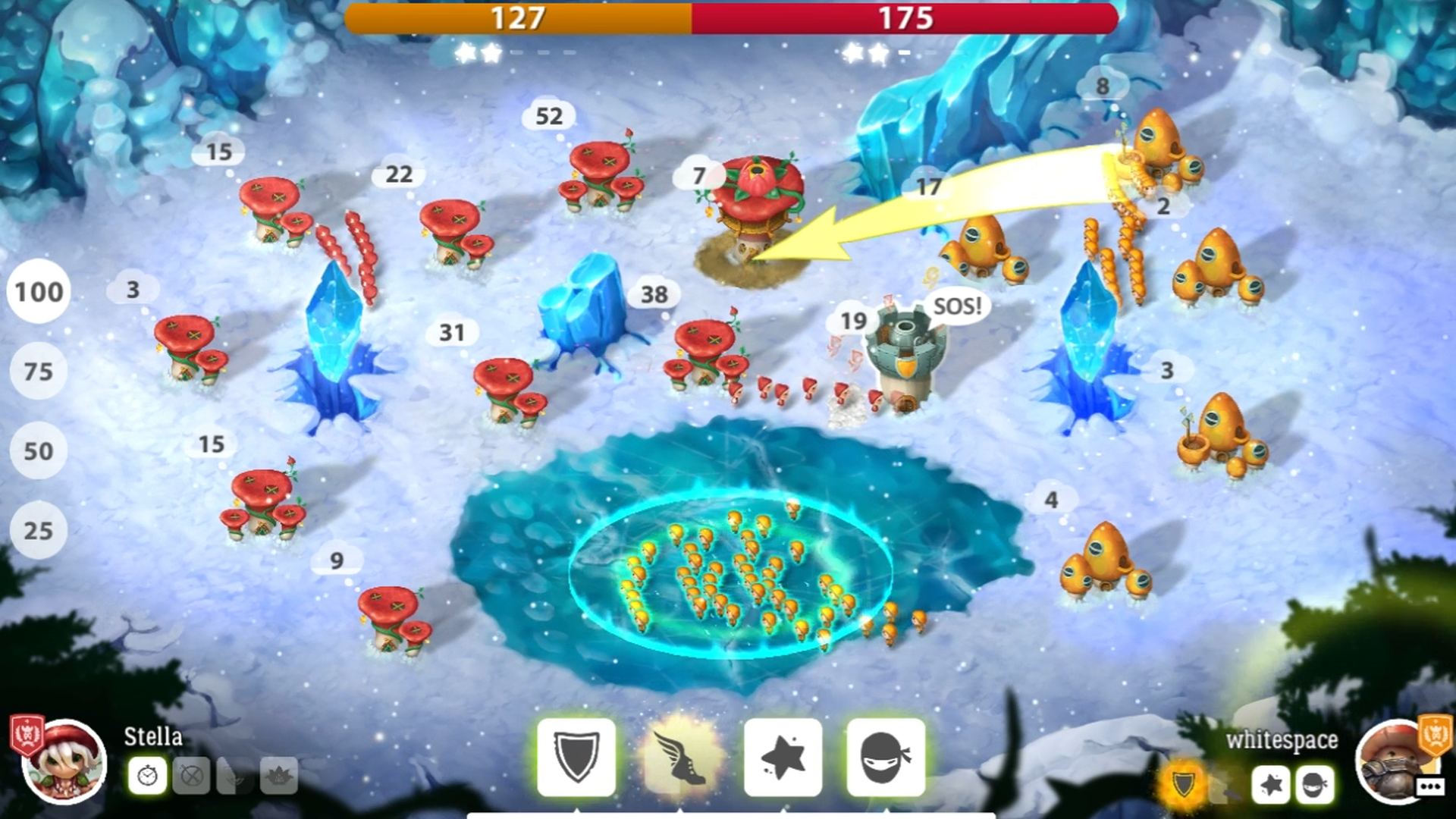 Mushroom Wars 2 - RTS meets TD screenshot 15