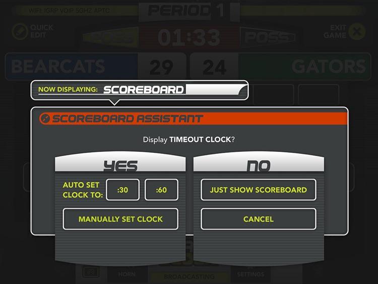 ScoreVision Basketball Scorekeeper screenshot-3