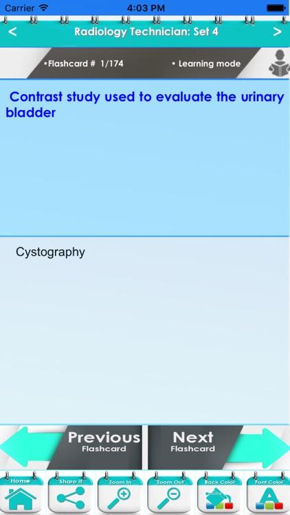 Radiology Technician 3750 Flashcards & Exam Quiz screenshot-4