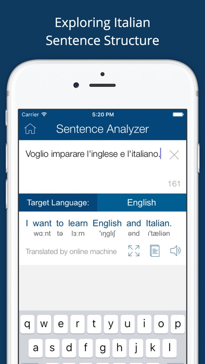 Italian English Dictionary App by Bravolol Limited