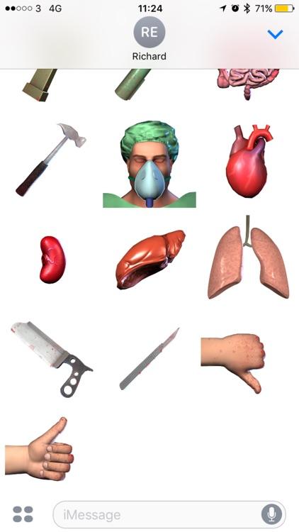 Surgeon Simulator Stickers