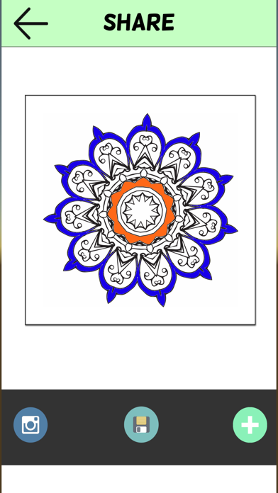 Coloring Book For Adults Pigment Pages Relaxation-2