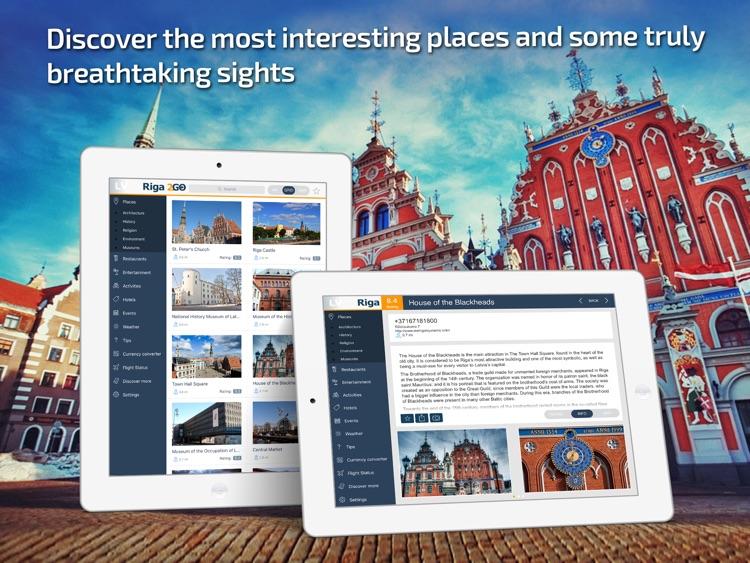 Riga Travel Guide & offline city maps