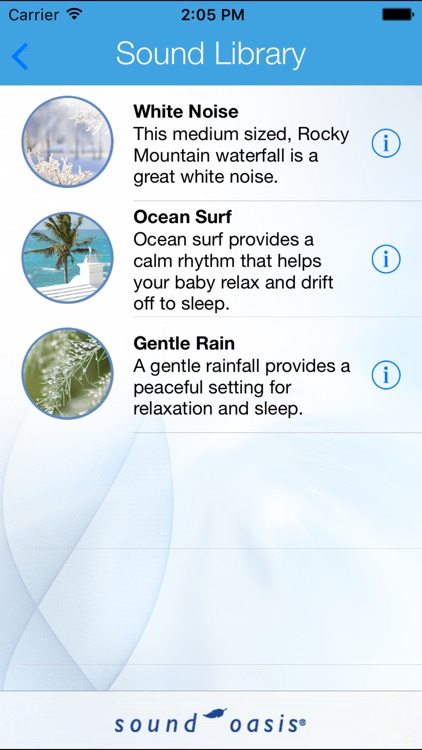 Baby Sounds For Sleep Lite screenshot-1