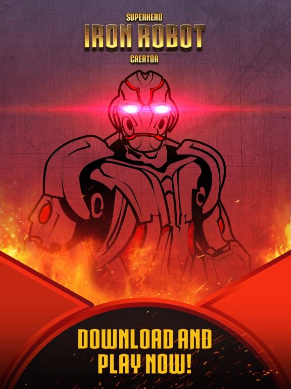 Скачать Superhero Iron Robot Creator for Avengers Iron-Man
