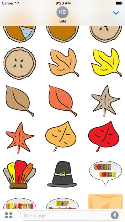 Fall Season Stickers