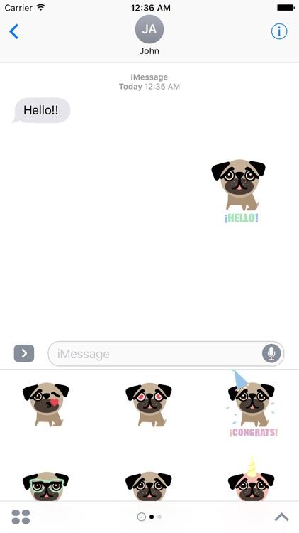 BUBU Pug screenshot-4