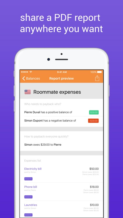 FriendCash 3 -  Manage Expenses With Friends screenshot-3
