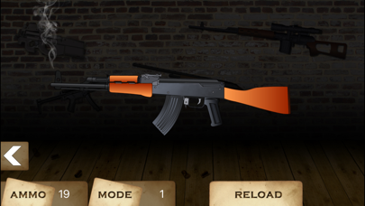 GUN CENTER Ultimate Gun Builder &Rifle Range Games Screenshot on iOS