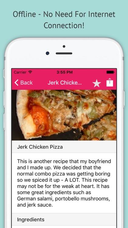 Pizza Recipes - Free Offline Recipes