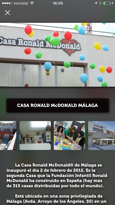 Ofertas McDonald's Málaga Screenshot