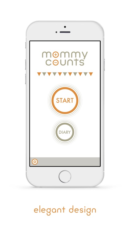 Mommy Counts - Third Trimester Baby Kick Counter