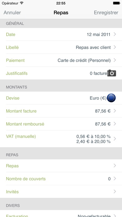 download Mes notes de frais Pro apps 3