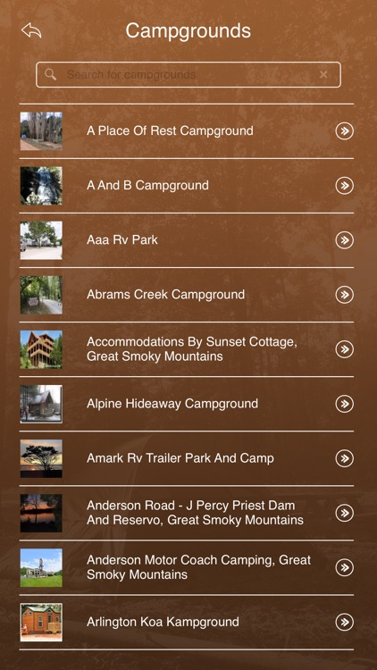 Tennessee Camping Guide screenshot-2