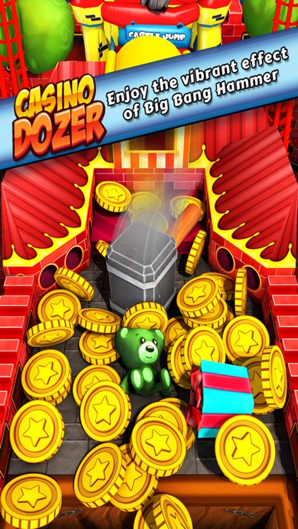 Vegas Casino Dozer - FREE Coin Pusher Game!