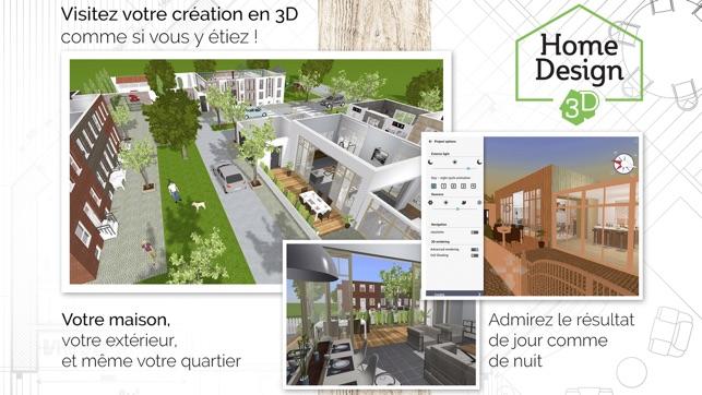 home design 3d free dans lapp store - Plan Maison 3d Gratuit Et Facile