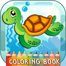 Activities of Sea Creatures Coloring Book For Kids And Toddlers!